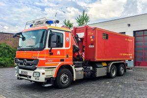 Containertrækker fra BF Hamburg F25