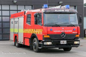 Mercedes-Benz Atego GKV autosprøjte årgang 2005. Foto: Henning Svensson.