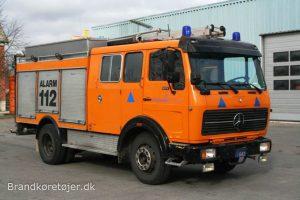 Mercedes-Benz 1017 autosprøjte med en fortid i Holland. Foto: Henning Svensson.