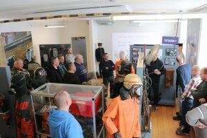 Foreningens generalforsamling blev afholdt på Brandmuseet, hvor Tim Ole Simonsen fra HBR kommunikation fortalte og viste rundt. Foto: Henning Svensson.
