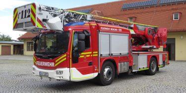 Ny type drejestige på Iveco/Magirus i München. Foto: Jesper Lind Arpe